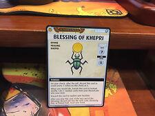 Blessing of Khepri Pathfinder Adventure Card Game Mummy's Mask Promo Card