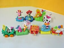 Lot of 9 McDonald's Birthday Train Happy Meal Toys Vintage 1958