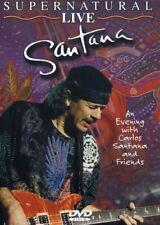 Santana - Supernatural Live [New DVD]