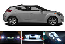 LED Package - License Plate + Vanity + Reverse for Hyundai Veloster (6 Pcs)