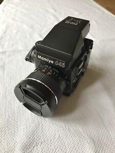 Mamiya M645 Super Camera, with AE Prism Finder and Mamiya-Sekor C 35mm Lens