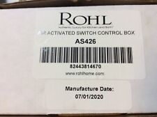 Rohl AS426 Air Activated Switch Control Box Only For Waste Disposal BRAND NEW