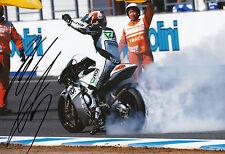 HIROSHI Aoyama mano firmato scozzese RACING HONDA 12x8 FOTO 2009 250cc CHAMPION.