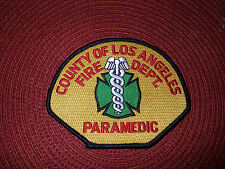 County of Los Angeles Fire Department Paramedic Shoulder Patch