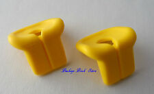 NEW Lego Minifig Yellow LIFE JACKET PRESERVER Boat Body Wear Swimmers - Lot/2