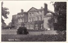 Leicestershire postcard QUORN HALL near Loughborough early 1900's