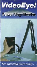 VideoEye Power Magnification VHS Video Tape Video Eye Magnify Images 25-50 times