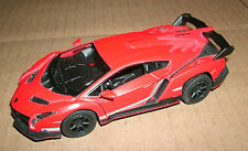 1/36 Scale Lamborghini Veneno Diecast Model Car Exotic Supercar Kinsmart KT5367