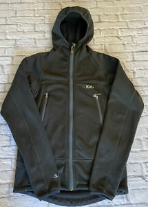 RAB Wind Pro Zip Up Jacket Grey Mens Size Small