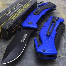 Tac-Force US NAVY Tactical Speedster pocket knife with seat belt TF-688NV