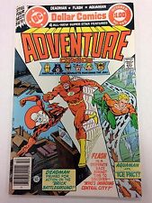 Adventure Comics #465 October 1979 Deadman Flash Aquaman 68 page giant