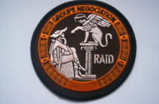 Patch Police france Police Nationale RAID groupe negociation ca 9cm
