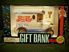 Golden Wheel Replica Pepsi-Cola Die-Cast Delivery Truck Gift BANK Limited Editio