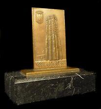 Médaille Tour de la cathédrale Saint-Rombaut à Méchelen Malines Belgique  Medal