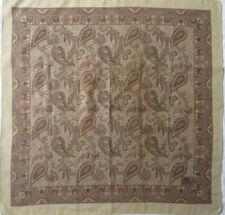 -Superbe Foulard ETRO  cachemire TBEG  vintage 84 x 85 cm