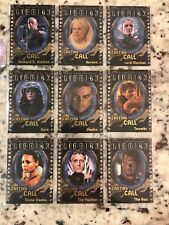 The Chronicles of Riddick Casting Call Complete Card Set Cc1 to Cc9