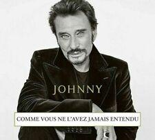 Johnny Hallyday comme vous ne L'avez jamais entendu CD Nouvel Album octobre 2019