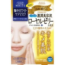 KOSE Clear Turn Face Mask White Royal Jelly 4 sheets