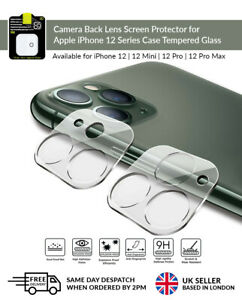 9H Camera Lens for iPhone 12/12 Mini/12 Pro/Max Case Protector Tempered Glass