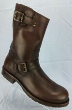 Frye Rogan Engineer Distressed Brown full grain leather Boots Men's sz 7