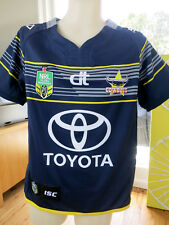 North QUEENSLAND Cowboys 2016 Home Jersey Kid Size 10