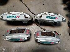 2003-2004-2005-2006-07-2008 JAGUAR S-TYPE R XJR FRONT REAR BRAKE CALIPERS BREMBO