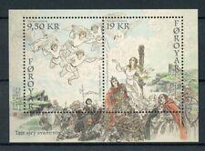 Faroes Faroe Islands 2017 MNH Seven Swans 2v M/S Legends Mythology Art Stamps