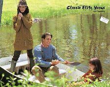 Classic Elite KNITTING PATTERN #434 East Inlet Aran - Family Sweater / Tunic