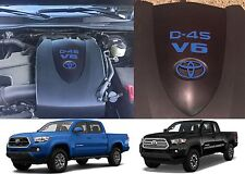 Azure Blue Vinyl Engine Valve Cover Decal For 2016-2017 Toyota Tacoma New USA