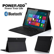 For Microsoft Surface 3 10.8 inch Touchpad Bluetooth Keyboard with Leather Case