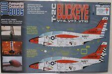 1/48 Two Bobs Decals T-2C BUCKEYE ' VT-4/-7/-10 ' #48-200 OOP/HTF **LAST ONES**
