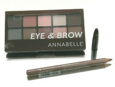 ANNABELLE EYE & BROW SHADOW PALETTE MAKEUP COSMETICS 9.3g +CHROME KOHL EYELINER