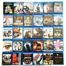 Blu Ray Movies Huge Lot Of 30 Action Adventure Comedy Transformers Batman Taken