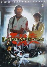 BASTARD SWORDSMAN - Hong Kong RARE Kung Fu Martial Arts Action movie - NEW DVD