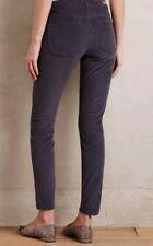 Pilcro and the Letterpress Women's Size 26 Stet Ankle Corduroy Pants Gray