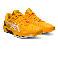 Asics Mens Solution Speed FF 2 Tennis Shoes Yellow Sports Breathable