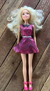 "My Size Barbie 28"" Tall Just Play Mattel Blonde Skirt Heels"