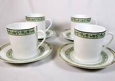 Remy Delinieres ~ BEAUMES de VANISE - Limoges ~ Cup and Saucer - Set of 4