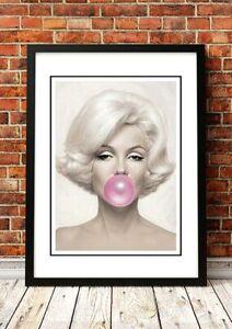 BUBBLEGUM Pop Art Posters | 7 to choose from | Framed or Unframed