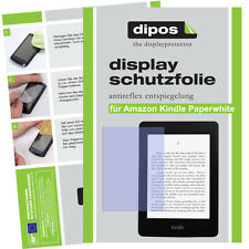 2x Amazon Kindle Paperwhite Schutzfolie matt Displayschutzfolie Antireflex