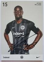 ⭐⭐⭐⭐ Jetro Willems ⭐⭐⭐ Autogramm Autogrammkarte ⭐⭐⭐ Eintracht Frankfurt⭐⭐⭐⭐