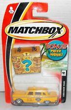 2004 MATCHBOX CHECKER TAXI CAB BONUS PRIZE INSIDE NEW