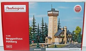 12226 Auhagen Ho Restaurant Widescreen With Turret Kit Of Mount Scale 1:87