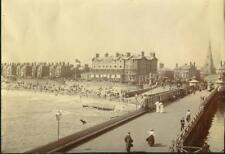 English Seaside Resort. Albumen Print. L008