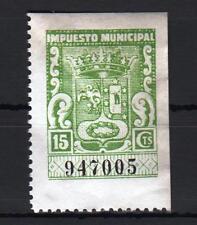 MADRID. 15 CTS VERDE MANZANA IMPUESTO MUNICIPAL