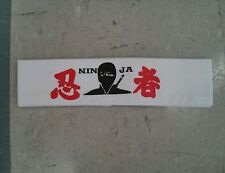 Ninja Headband Karate Martial Arts Judo Hapkido Tae Kwon Do Japan MMA Okinawa