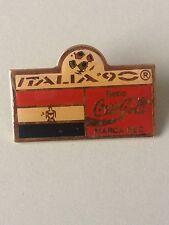 PIN´S COCA COLA ITALIA 90 - FLAG - FOOTBALL -  PINS COCA-COLA FUTBOL - (E0563)