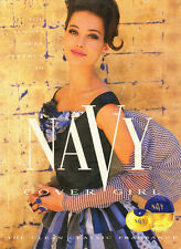 1991 vintage ad, NAVY Perfume by Cover Girl- Beautiful Model! -062013