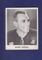 Harry Howell 1965-66 Coca-Cola Coke Cards Hockey (VGEX) New York Rangers