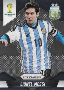 2014 PANINI WORLD CUP PRIZM Lionel Messi Argentina Prizm Base Card #12